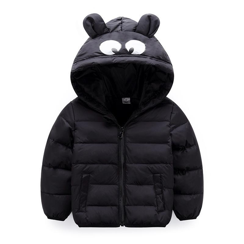 6cb59d4d02e0b good quality Worm Thicken Hooded Children Snow Outerwear Down Kids Winter  Warm Solid Coats Boys Girls Jacket Baby Clothing