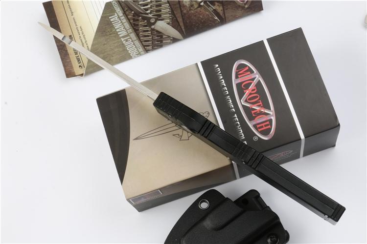 Alta qualidade Microtech preto clássico de Halo V UT85 Tanto lâmina de faca 4.6