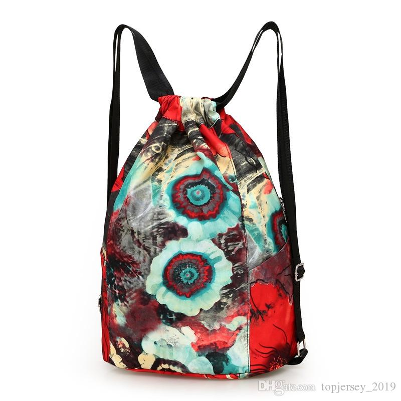 4f7c5bb43 Gym Sack Bag With Drawstring Women's Outdoor Sports Fitness Gym Backpack  For Sports Pocket Women Gymnastics Training Bag For #171457