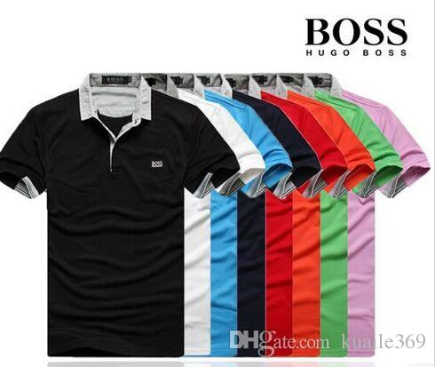 4e5371a31 Hot Sell Designer Polo Shirt T Shirts Luxury Brand Embroidery Mens ...