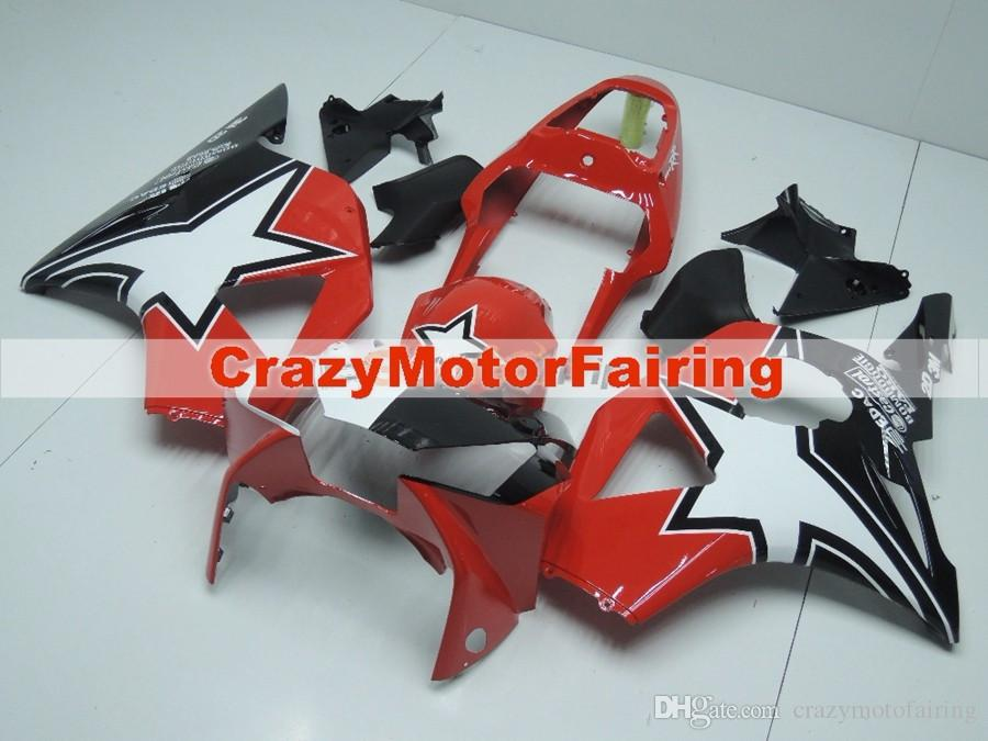 New Injection ABS motorcycle fairings kit for HONDA CBR 954RR 954 2002 2003 CBR954RR 02 03 CBR 900RR fairings parts custom red white black