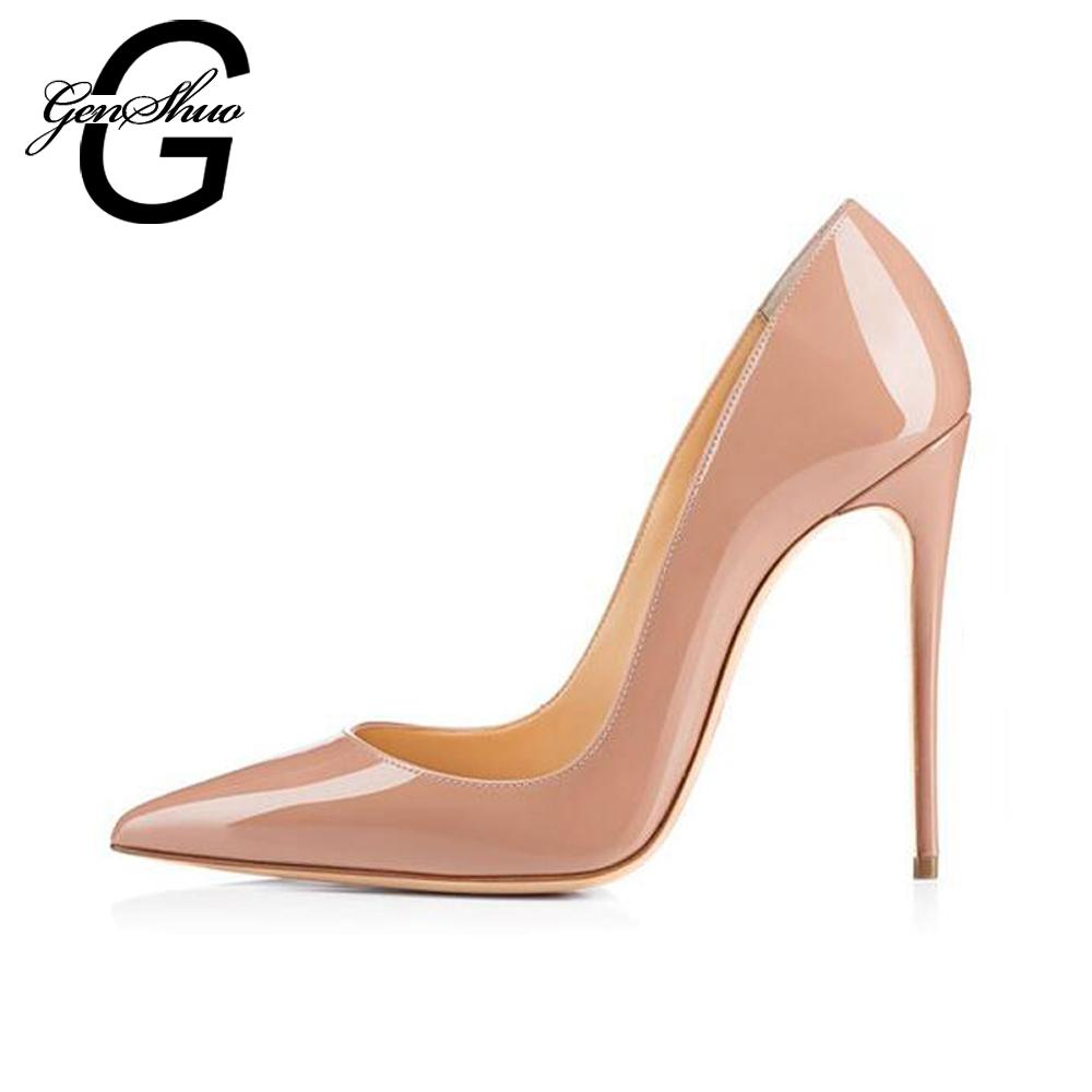 Women High Heels Shoes Pumps 10cm Black Stilettos Heels Sexy Pointed Toe  White Pumps Nude Heels For Women Shoes Ladies Size 6 12 Mens Trainers  Walking Shoes ... d988dbcefd49