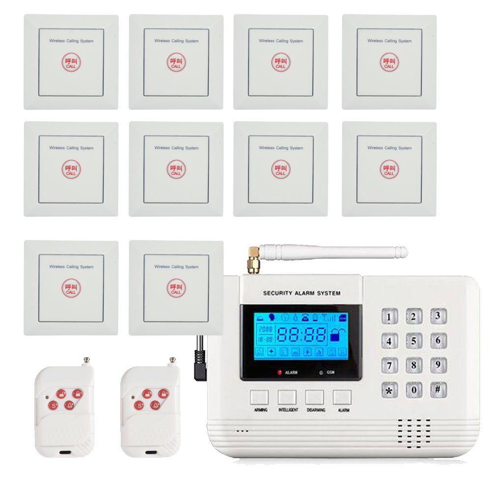 73dad0ddd71 Compre Ventas Calientes 433 Mhz Sistema De Alarma GSM Inalámbrico 86 Mm  Botón Impermeable Sistema De Llamadas De Emergencia Sensor De Intrusos De  Seguridad ...