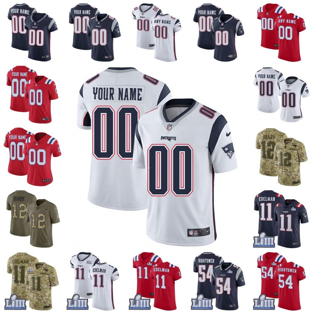 best service 3eadc fadb3 Super Bowl custom Men youth women New Tom Brady Jersey Rob Gronkowski  Julian Edelman N Keal Harry Sony Michel