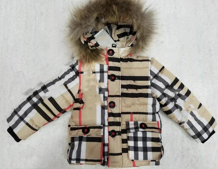 High quality Winter Kids Jacket fashion Outerwear Warm baby Boys girls Hooded Jacket Children Cotton-Padded Jackets Coat