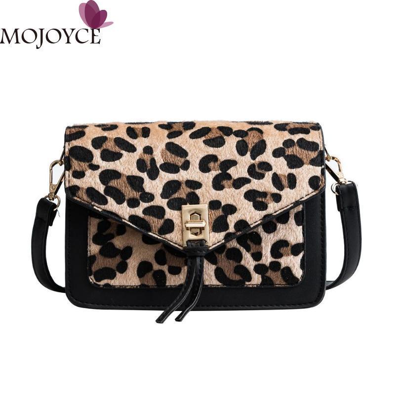 6a2add62183 Leopard Print Crossbody Bags for Women 2018 Fashion Lady PU Sling Shoulder  Bag Casual Girls Messenger Handbag Bolsa Feminina