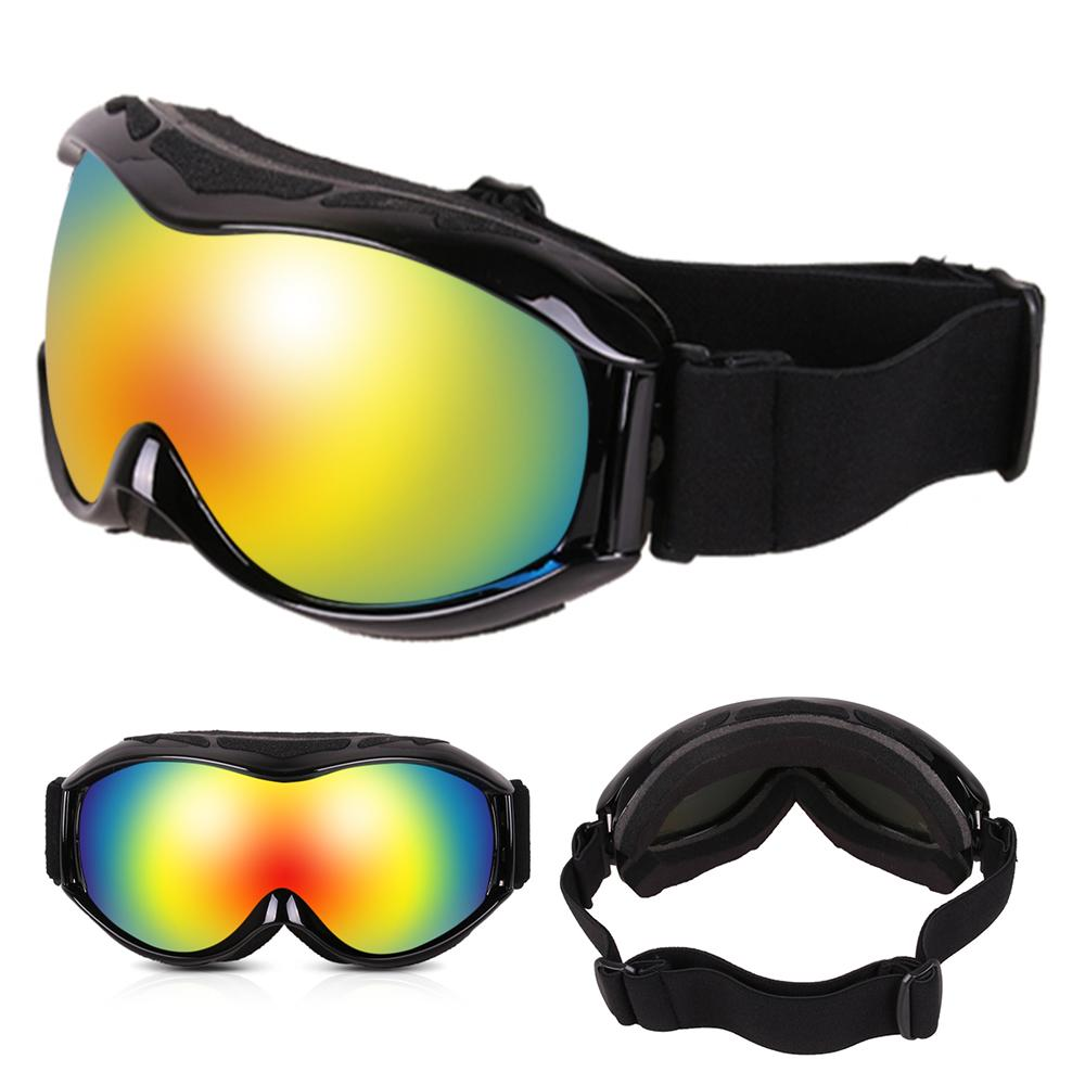 UV Protection Skiing Snowboard Goggles Men Women Double Layers Ski Goggles Anti-fog Big Ski Mask Glasses for Winter Eyewear