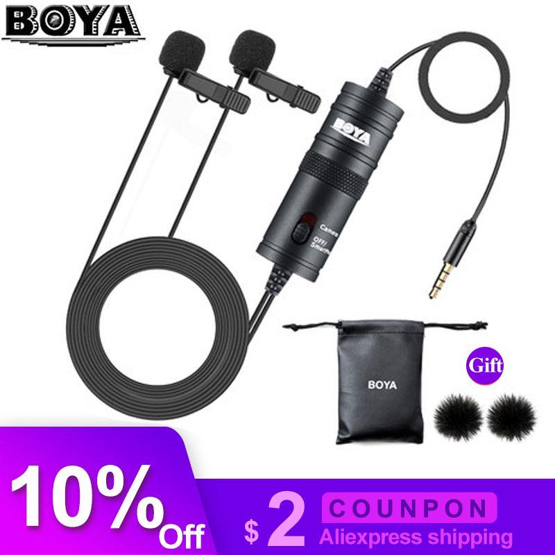 Boya By M1 By M1dm Phone Microphone Lapel Lavalier Audio Microfone
