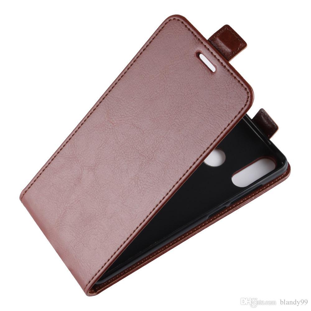 the latest 91da5 4ed6e Phone leather case For Vodafone smart X9 N9 lite flip 64 grain Leather TPU  cover case For Vodafone smart N8 V8