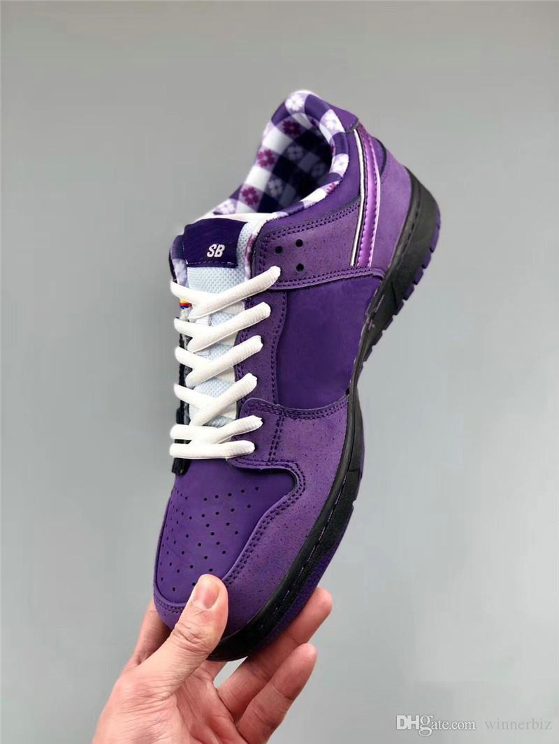 huge discount 0d476 ff97b Wholesale Designer Concepts x Sb Dunk Low Kyrie Blue Purple Lobster Running  Shoes Dunks Women Mens Trainers Zoom Athletic Sneakers