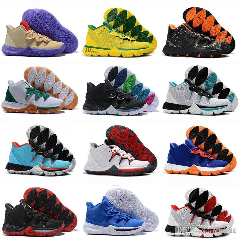 1a43e58ca3c 2019 Kyrie IV 4 Confetti Men Sneakers High Ankle Irving Basketball ...