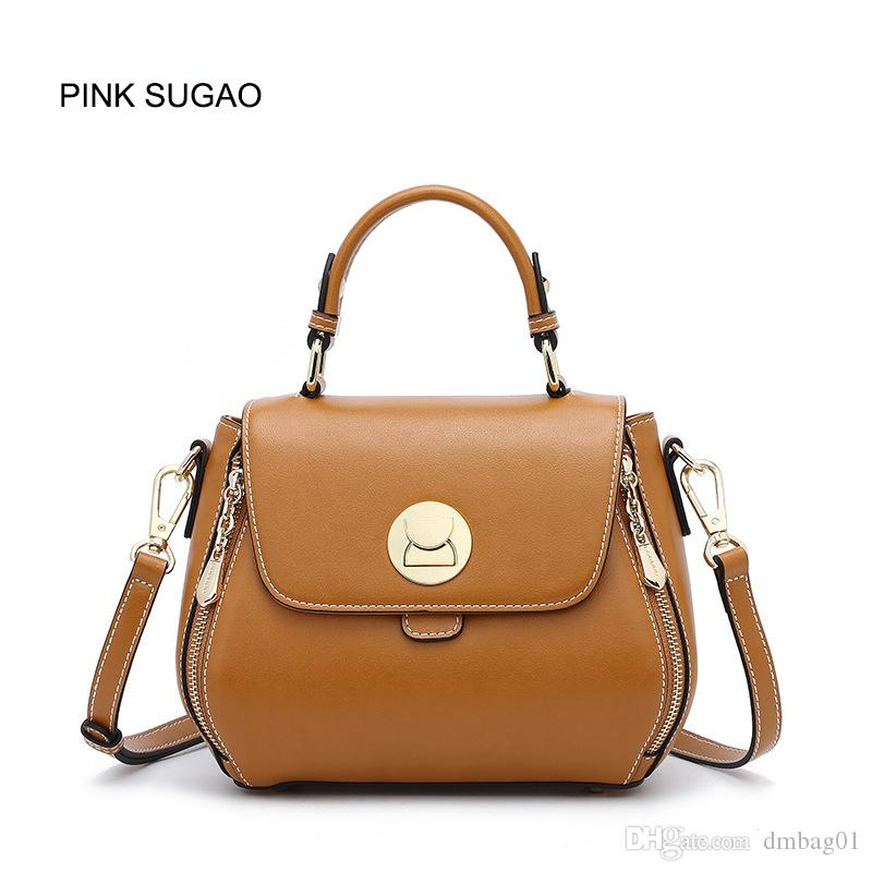 a784c868634d Pink Sugao Designer Handbags Luxury Handbags Purses Crossbody Bag For Women  2019 Brand Fashion Shoulder Bag Leather Handbag Tote Bag Personalized Bags  ...