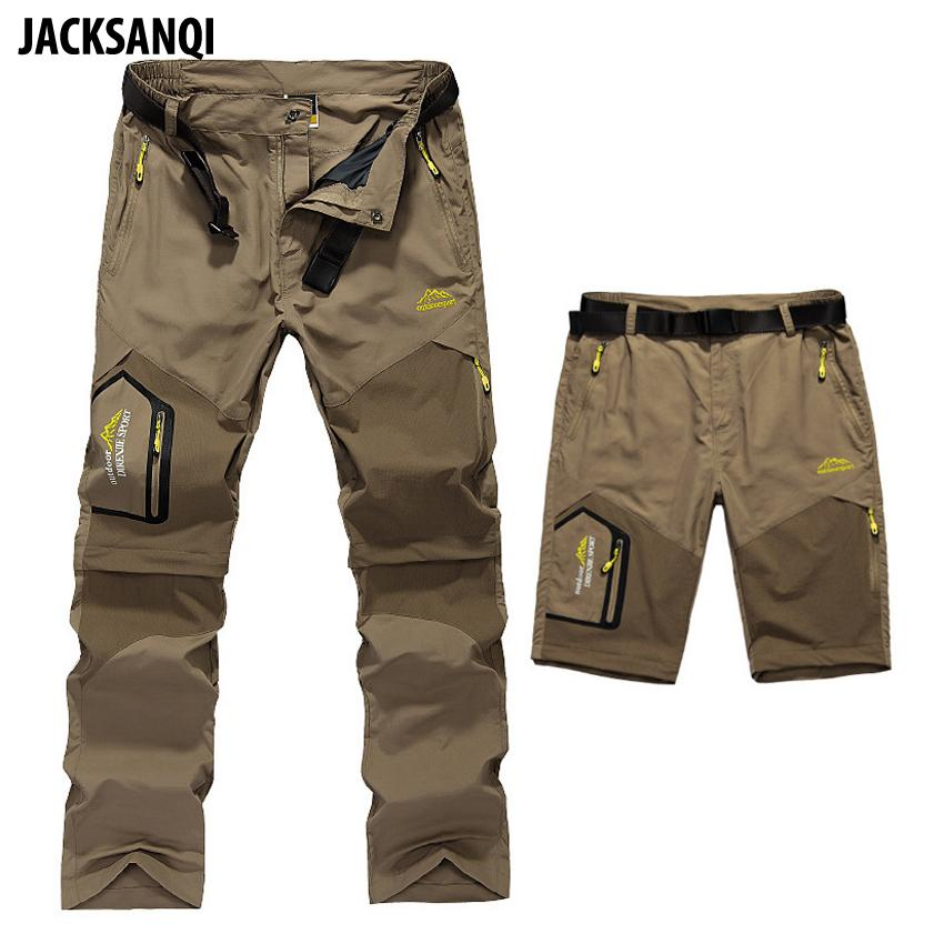 7f06d46e939 JACKSANQI 5XL Men s Summer Removable Quick Dry Hiking Pants Outdoor ...