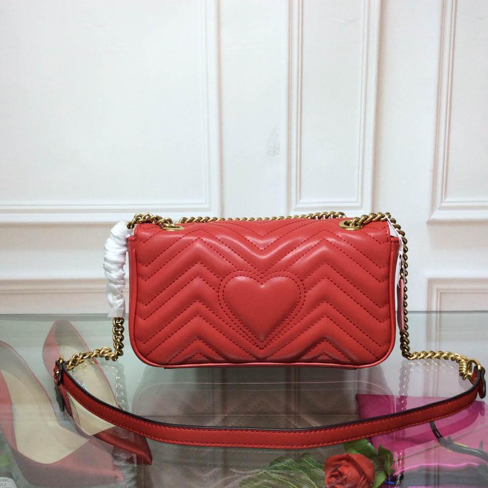 85dc38728ce1 Compre Marca Marmont Basic Mujer Bolsos De Hombro Moda De Lujo Diseñador  Clásico Bolsos Bolso De Cuero Genuino Tamaño 26 * 16 * 7 Cm 3 Modelo De  Color ...