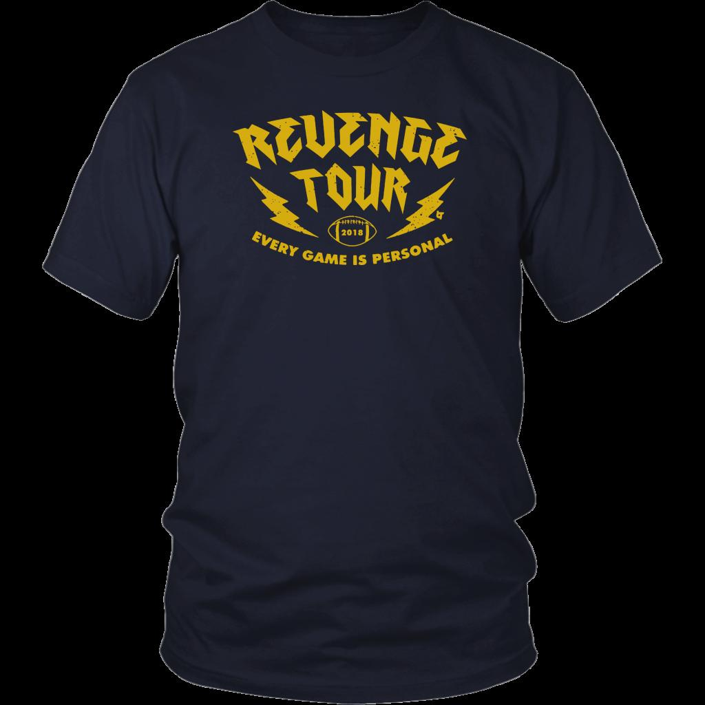 Michigan Football Revenge Tour T Shirts Custom T Shirt Logo Text