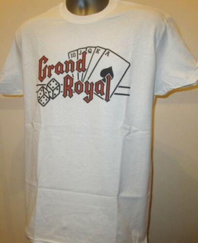 Grand Royal Record Label Cards Camiseta Retro Hip Hop Rap Música W234 Beastie Boys Camiseta de manga corta Envío gratuito al por mayor barato
