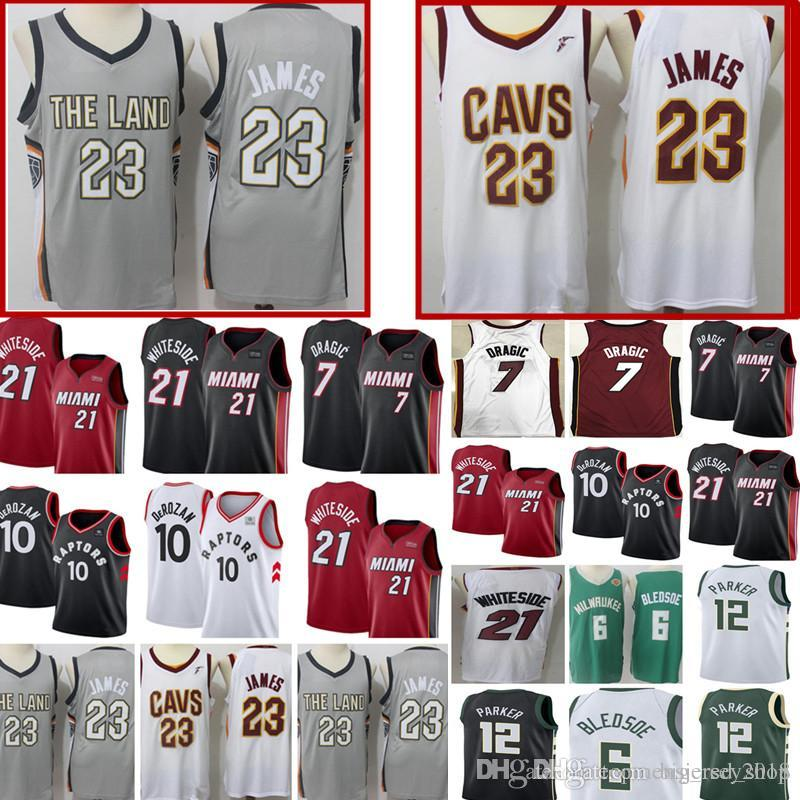 buy popular 92ce7 69b2d Cleveland New Cavaliers 23 LeBron James Jersey Cheap wholesale Mens  Basketball Jerseys Embroidery Logos HASSAN 21 WHITESIDE