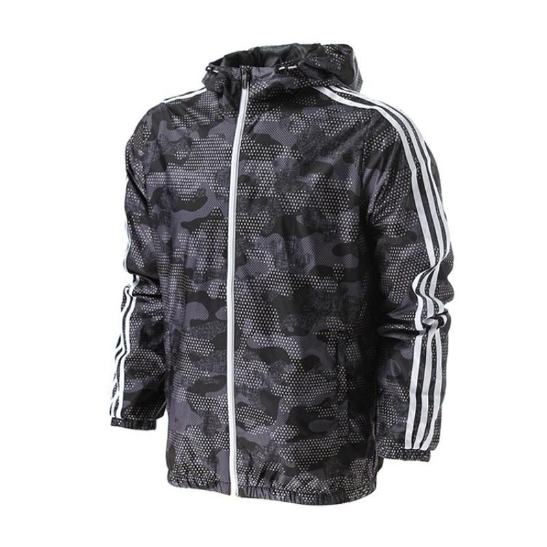 197d70176c83 Mens Jacket Thin Casual Jackets 2019 Spring Autumn New Windrunner ...