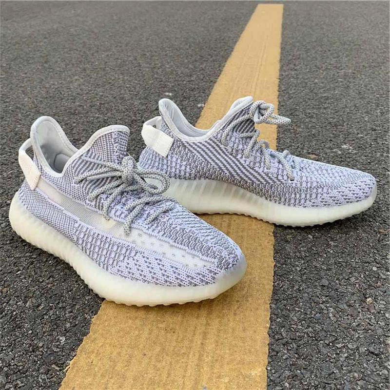 097603a46 2018 Authentic 350 V2 Static Kanye West Man Women Outdoor Shoes ...