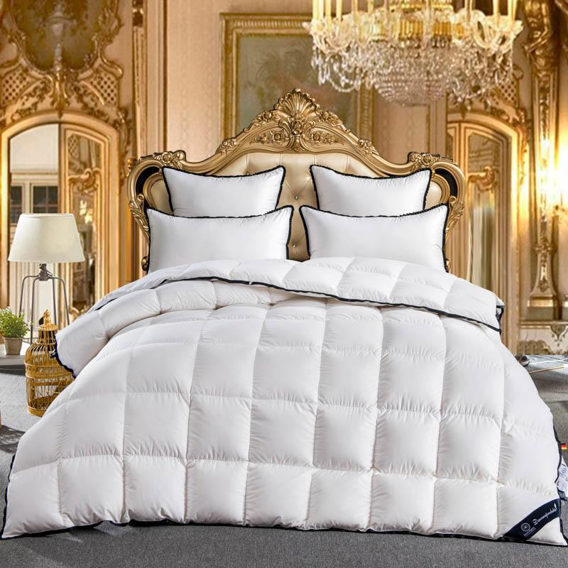 2018 King Queen Full Twin Size 100 Goose Down White Comforter