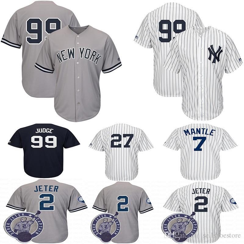 7d4b7360830 Yankees 99 Aaron Judge New York Jersey 2 Derek Jeter 3 Babe Ruth 7 ...