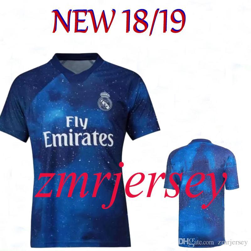 48ac2adf6 2019 Real Madrid 2019 2020 Soccer Jersey MODRIC MARIANO ASENSIO VINICIUS JR  Football Shirt BALE RAMOS Camiseta 19 20 ISCO Blue Football Shirt From  Zmrjersey ...