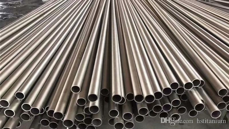 bulk exhaust pipe/titanium price per pound/titanium pipe price ASTM 337 338  seamless titanium alloy tube titanium pipes price