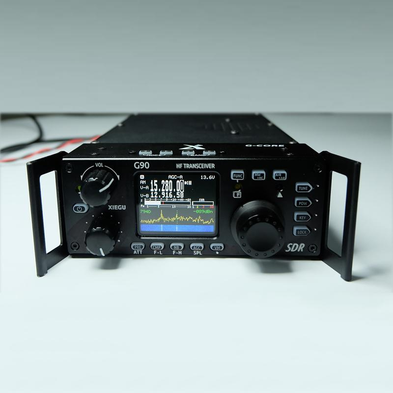Xiegu G90 Shortwave Radio Outdoor Version 0 5-30MHz 20W HF Transceiver With  IF Output,SDR portable HF Transceiver SSB/CW/AM
