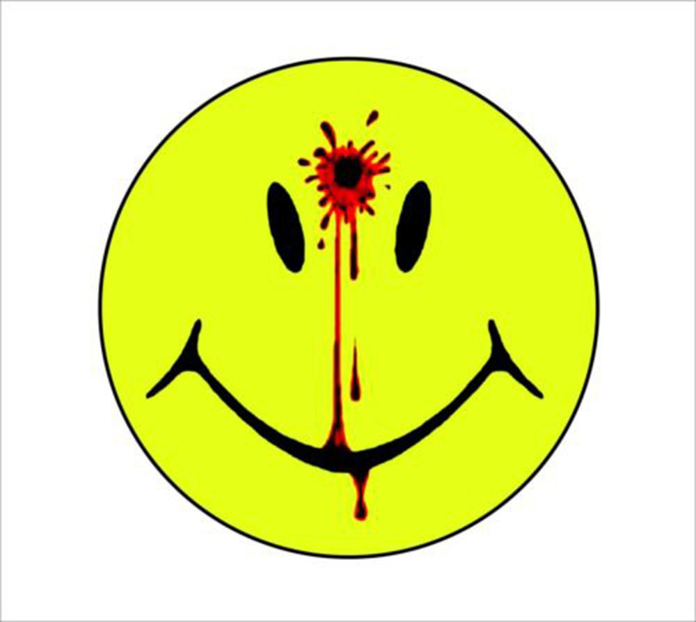 For Smiley Face Decal Head Shot Bullet Hole Gun Decals Blood Vinyl Stickers Decal Personality Accessories