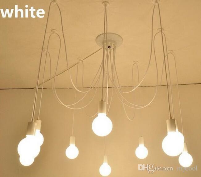 Acheter Blanc 568 10 Lumières Lustre Rétro Edison Ampoule Lustre