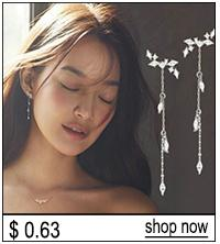 High Quality Surgical Steel Crystal Ear Studs Kit Piercing Tool Ear Earing Stud Jewelry
