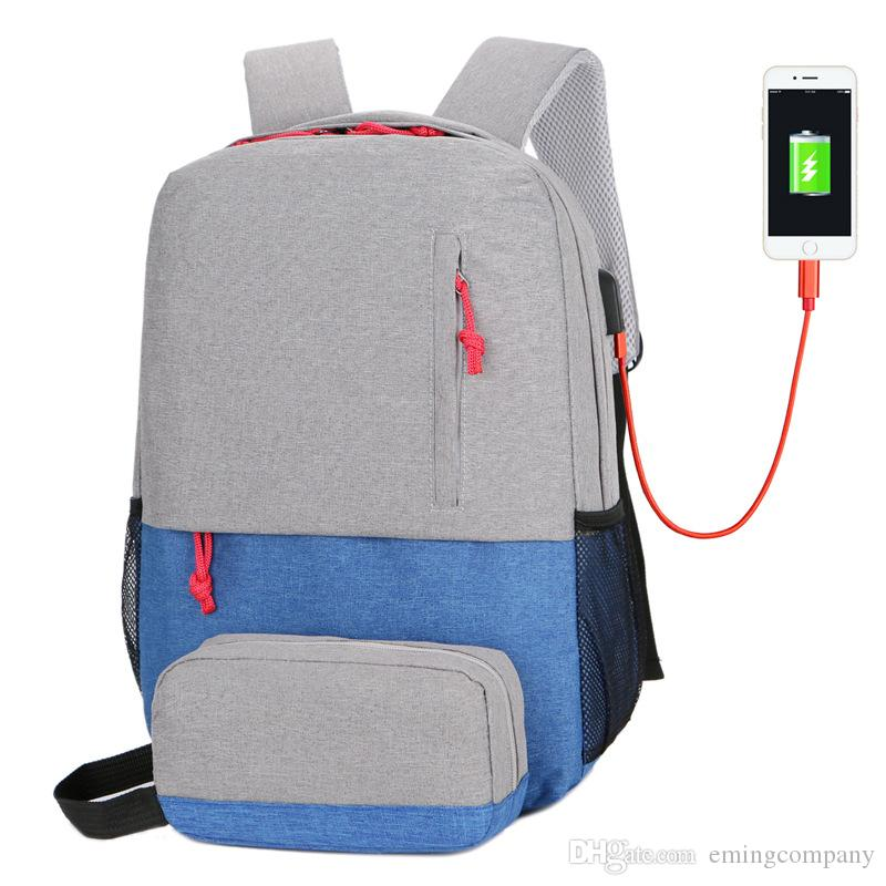 514f1d795b5 Designer Backpack Iphone USB Charger Backpacks Laptop Bag For Men And Women  Travel Business And School Bags