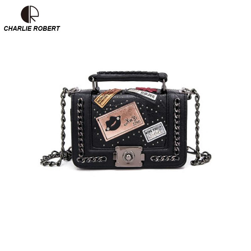 Sequined Patchwork Women Lady Shoulder Bags Bolso Femenino 2019 New Spring Retro Vintage Three Colors Casual Crossbody Bags
