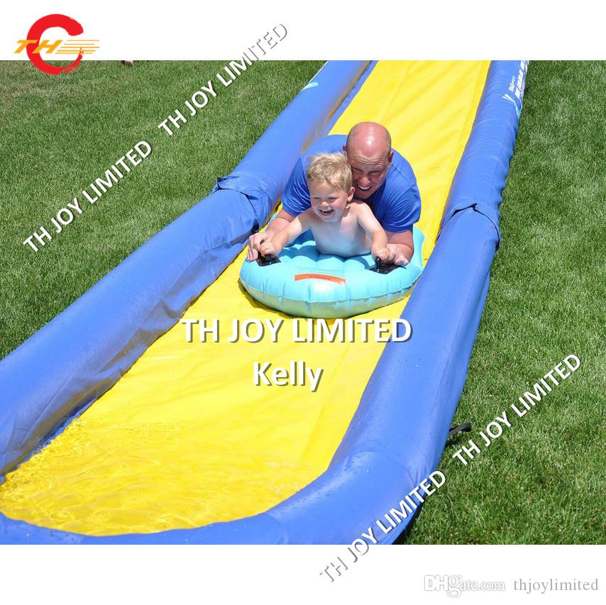 CE certified commercial outdoor kids Slip n Slide cheao inflatable slide  the city long inflatable water slides for sale