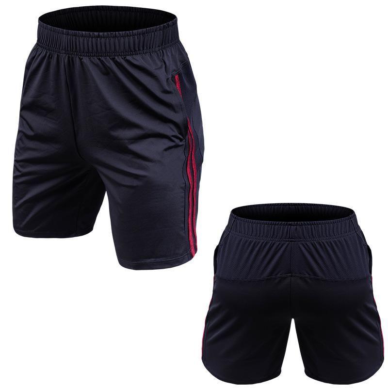 Acheter New Big Size Hommes Running Shorts Eté Taille Élastique Jogging  Running Gym Noir Shorts De Sport 4XL De  33.71 Du Bunner  713d36f96e0