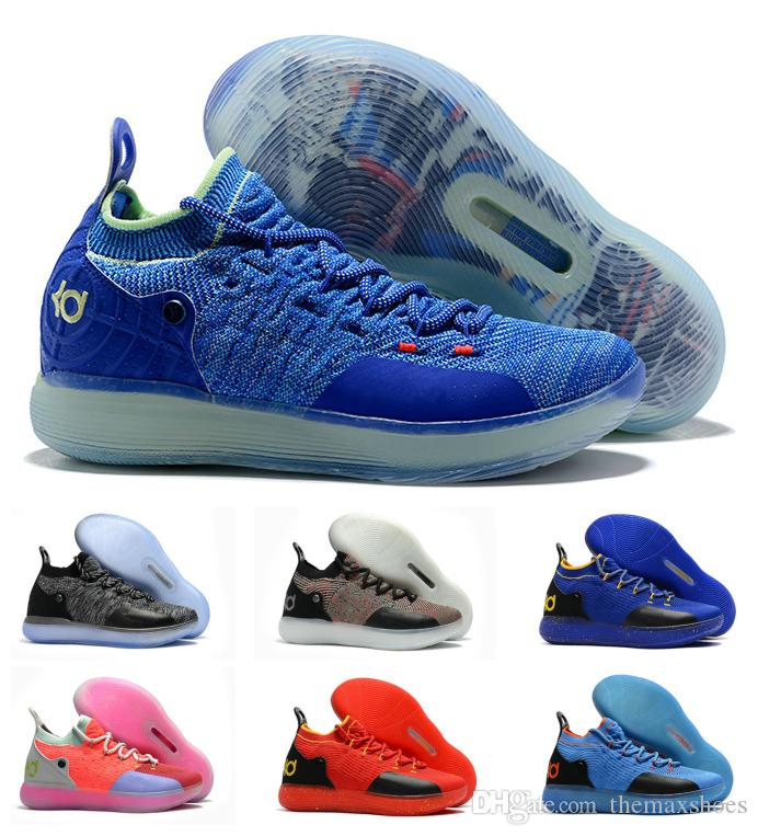 ed16056e621b Hot Boys Kids Kevin Durant KD 11 11S Multi Color KD11 XI Trainers Zoom Youth  Girls Women Basketball Shoes Elite Mid Sport Sneakers 36 40 Walking Shoes  Shoes ...