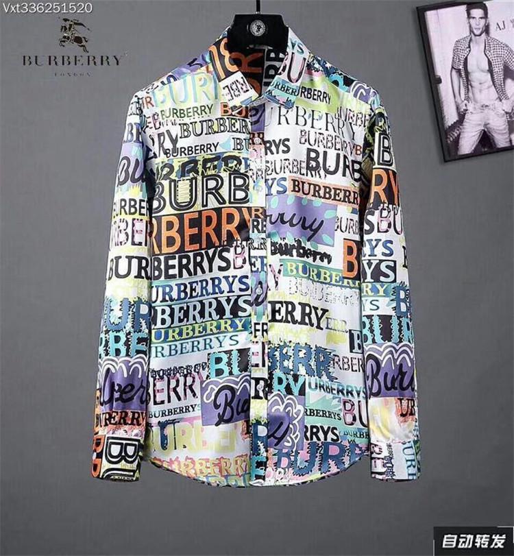 Compre Outono Camisa De Lapela De Manga Longa Estilo Masculino Novo ... 8980963b2b670
