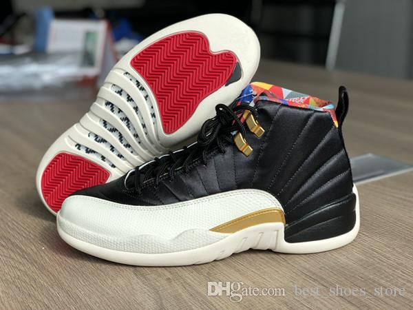 official photos 57d71 553c5 Wholesale CNY 12 XII men basketball designer shoes with box new 12s women  outdoor sports trainers fashion sneakers high quality size 5.5-13