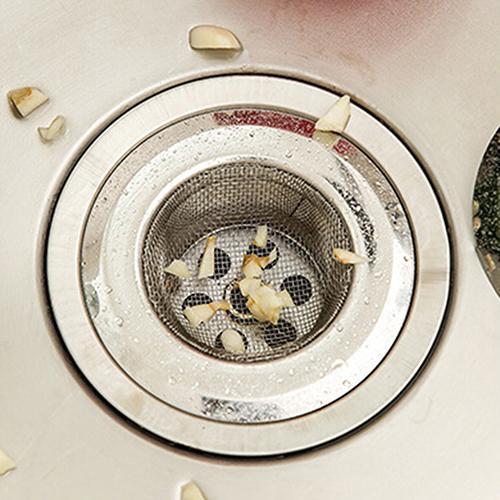 7cm Stainless Steel Mesh Sink Strainer Trap Bath Hair Drain Hole Metal Flume Filter Bathtub Wash Basin Sundries Filter