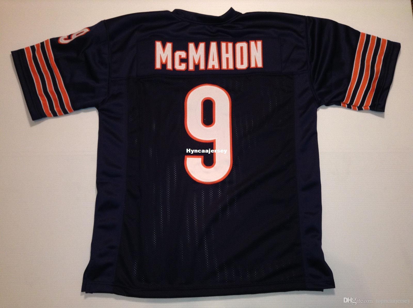 reputable site 6ef65 fbf6b Cheap Retro custom Sewn Stitched #9 Jim McMahon Blue MITCHELL & NESS Jersey  Men's Football Jerseys College NCAA
