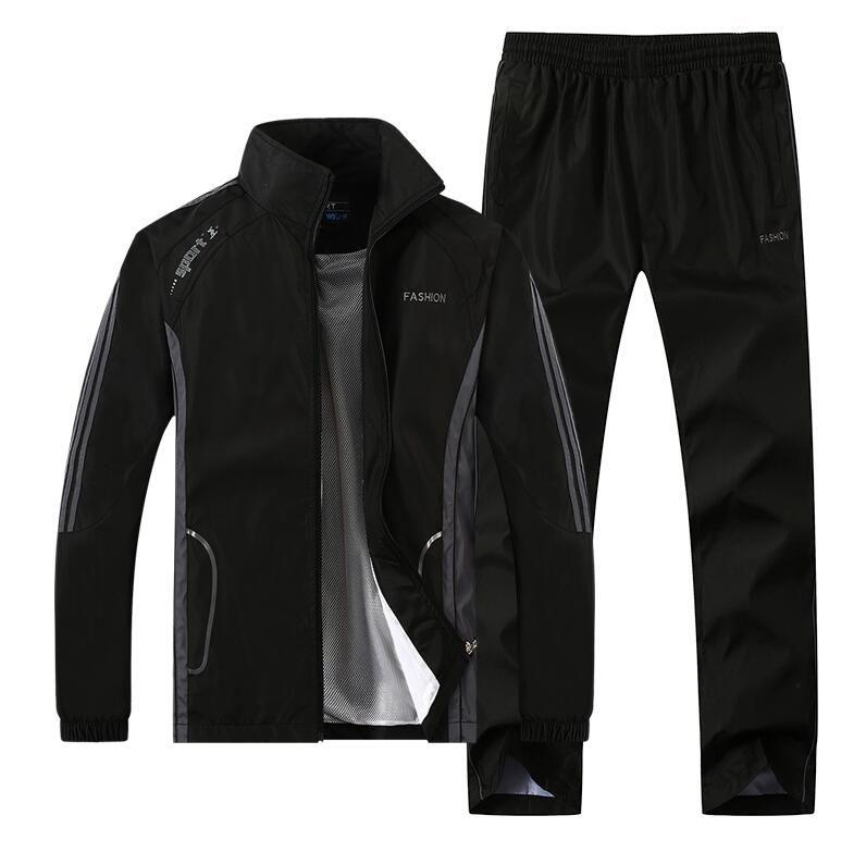 a3ae8a26fb8a 2019 Champion men's full zip tracksuit men sport suit white cheap men  sweatshirt and pant suit hoodie and pant set sweatsuit men 345-276