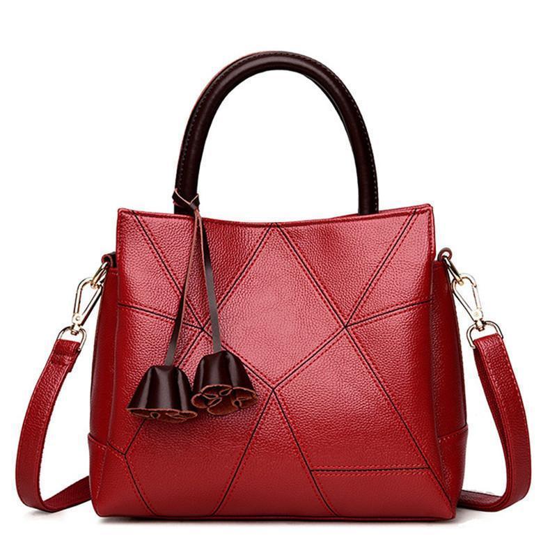 0c0775be90 Acquista Fiori Borse In Vera Pelle Di Lusso Borse Donna Designer ...