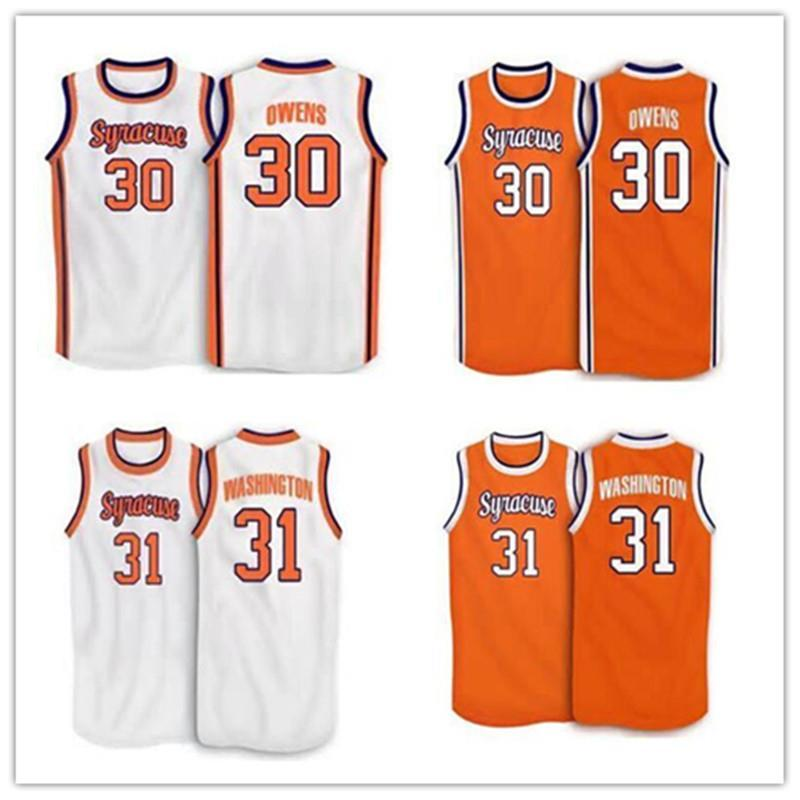 0b57575dc 2019 Cheap  4 Rony Seikaly  1 Hakim Warrick  30 Billy Owens  31 Dwayne  Pearl Washington Syracuse Orange 1991 College Jersey NCAA From Hytopjersey