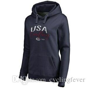 Fanatics Branded USA Curling Women 039 s Navy Graceful Pullover Hoodie