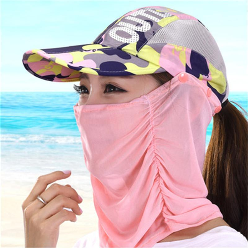 ea281f477ed Sun Hat Ladies Summer Outdoor Sun Hat Summer Folding Quick Drying ...