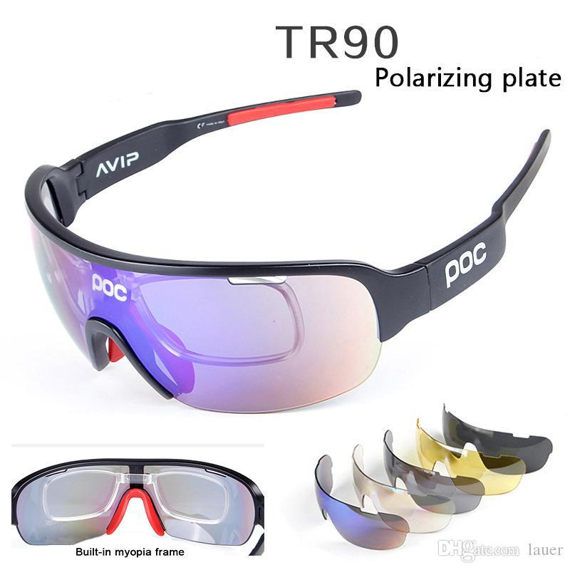 d5d566c80f 2019 POC Sunglasses Hot Polarized Sports Eyewear UV400 Mens Sun ...