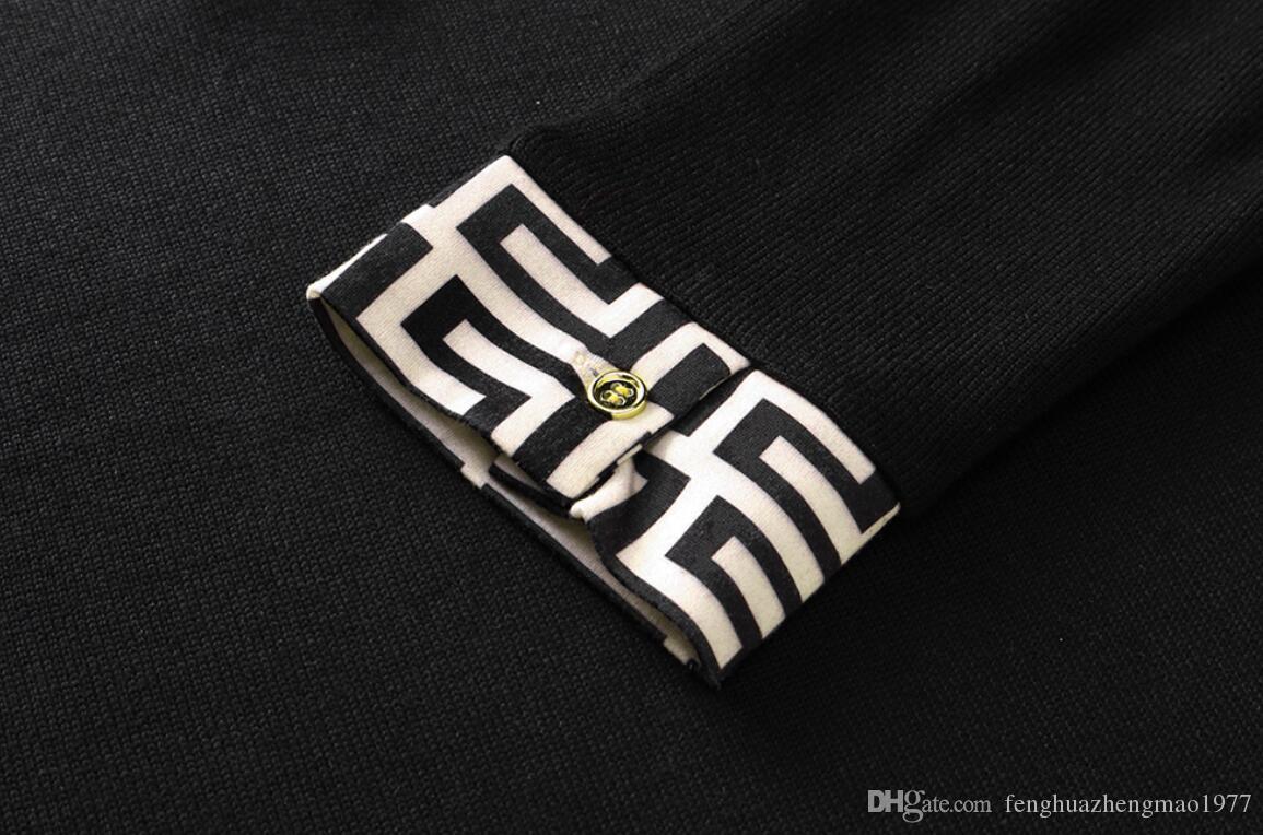 최신 럭셔리 남성 여성 의류 고품질 스웨터 순수 캐시미어 자수 스포츠웨어 패션 절묘한 코트 스웨트 TOP