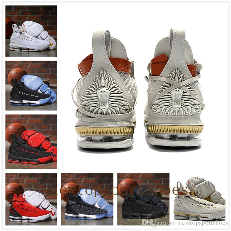 878c0896257 2018 New Style XVI 16 Harlem s Fashion Row Basketball Shoes for High  quality Fashion Women Mens Trainers 16s HFR Sports Sneakers Size 40-46