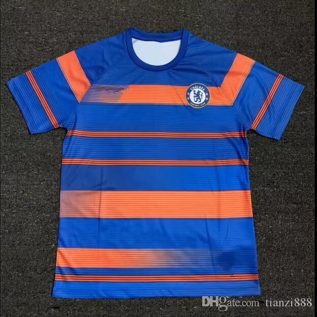 Camiseta De Mangas Cortas De Primera Calidad De La Liga De Fútbol De Thail  18 19 Hazard Oscar Mikel Camiseta Camiseta De Manga Corta Chelsea Por  Tianzi888 9a2067d68bee0