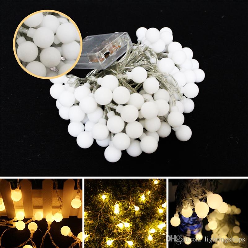 Led String Light Outdoor Fairy Light Bulb Battery Powered 3m 6m 10m Waterproof Garland Christmas For Home Wedding Indoor Decoration
